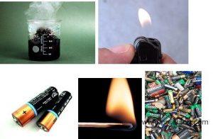 Ejemplos de energia quimica
