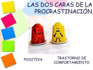 Ejemplos de procrastinacion