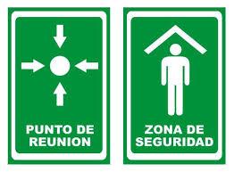 Ejemplos de zonas de seguridad