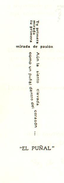 Ejemplos de caligramas