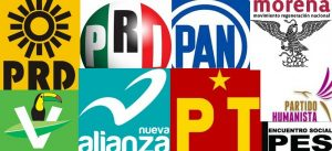 partidos políticos en México