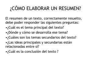 ejemplos de resumen