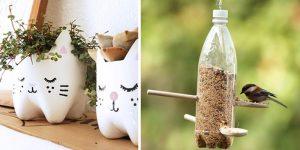 ejemplos de reciclaje en casa