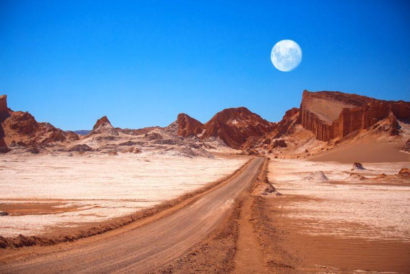 desiertos en el mundo