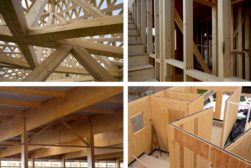 Ejemplos de madera